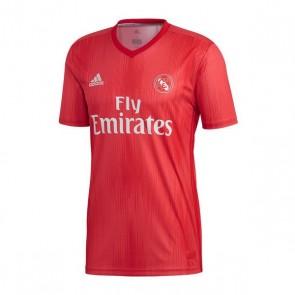 Maglia da Calcio a Maniche Corte Uomo Adidas Real Madrid Rosso 18/19 (3ª)