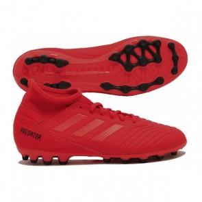 Scarpe da Calcio per Adulti Adidas Predator 19.3 AG Rosso