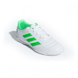 Scarpe da Calcio a 5 per Bambini Adidas Copa 19.4 IN Bianco Verde