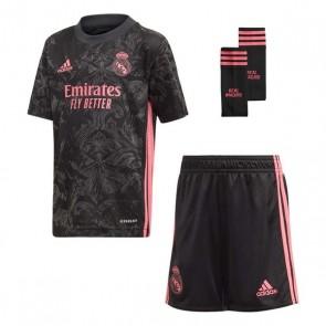 Set di Attrezzatura da Calcio per Bambini Real Madrid Adidas 3 MINI Nero (3 pcs)