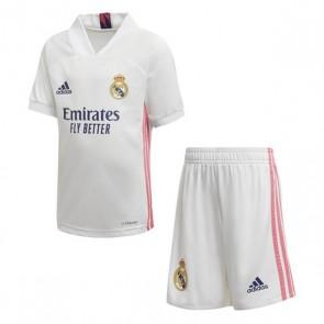 Set di Attrezzatura da Calcio per Bambini Real Madrid Adidas H MINI Bianco (3 pcs)