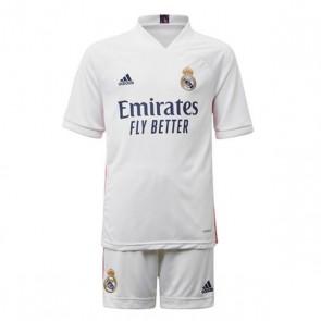 Set di Attrezzatura da Calcio per Bambini Real Madrid Adidas H Y KIT Bianco (3 pcs)