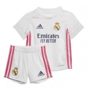 Set di Attrezzatura da Calcio per Bambini Real Madrid Adidas H BABY Bianco (3 pcs)