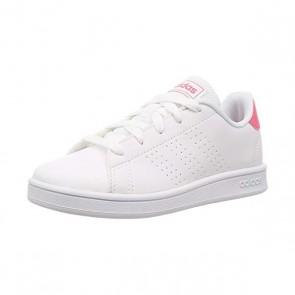 Scarpe da Tennis Casual Adidas Advantage K Bianco