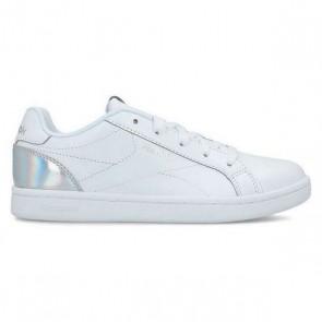 Scarpe da Tennis Casual Bambino Reebok Royal Complete Clean Cadetto Bianco Argentato