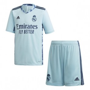 Set di Attrezzatura da Calcio per Bambini Real Madrid Adidas H GK KIT Azzurro (3 pcs)