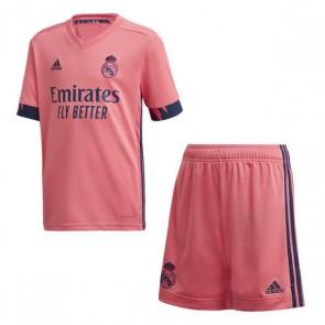Set di Attrezzatura da Calcio per Bambini Real Madrid Adidas A Y KIT Rosa (3 pcs)