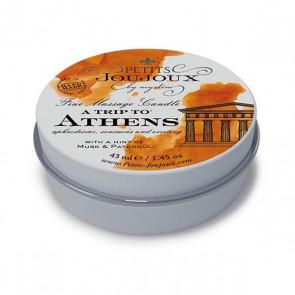 Candela per Massaggio Atene (33 g) Petits Joujoux 67625