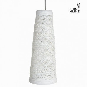 Lampadario Materiale Rattan Blanco by Shine Inline