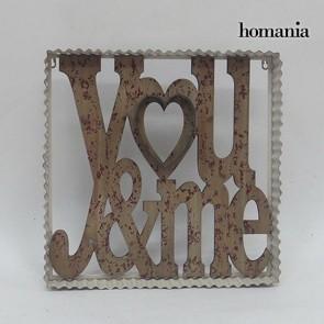 Cornice di metallo you&me by Homania