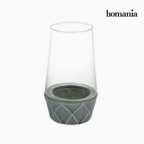 Candelabro Ceramică Geam - New York Collezione by Homania