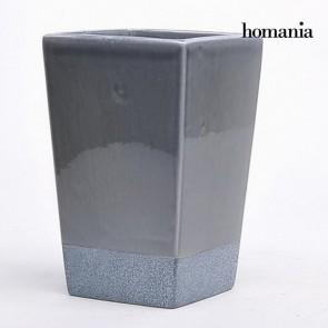Vaso di ceramica grigio by Homania