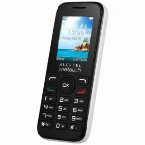 """Cellulare per anziani Alcatel 10-50 1,8"""" TFT RADIO FM DUAL SIM Bianco"""
