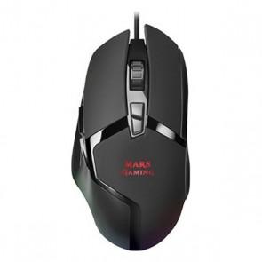 Mouse Gaming con LED Mars Gaming MMGX RGB 10000 dpi 60 ips Nero