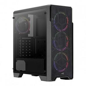 Casse Semitorre Micro ATX / Mini ITX / ATX Aerocool Ore Saturn RGB USB 3.2 Nero