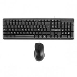 Mouse e Tastiera Tacens ACP0FR Nero