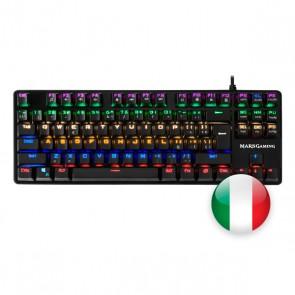 Tastiera per Giochi Mars Gaming MK4MINI RGB USB 2.0 (Italiano)