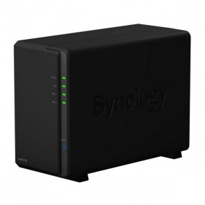 Videoregistratore in Rete Synology NVR1218 Dual Core 1 GB RAM Nero
