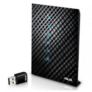 Router Senza Fili Asus NROINA0190 90IG03N0-BM3110 1 x RJ45 WAN 4 x RJ45 LAN 1 x USB 2.0 1 x Wifi 128 MB Flash 128 MB RAM