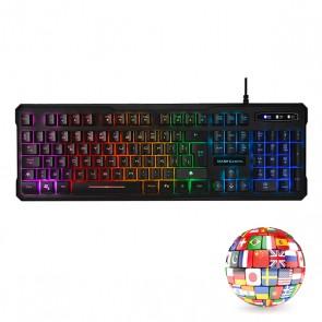 Tastiera per Giochi Mars Gaming MK218 RGB USB 2.0