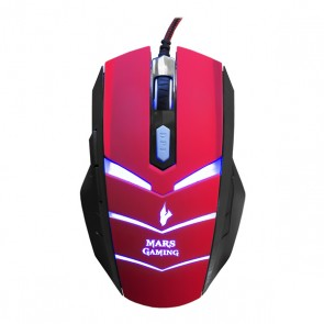 Mouse Gaming Tacens MMVU1 MMVU1 USB Nero Rosso