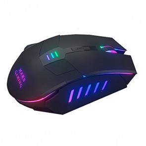 Mouse Gaming con LED Mars Gaming Mars MM116 3200 dpi Nero