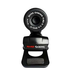 Webcam Gaming Tacens Mars MW1 HD 720p Clip Nero