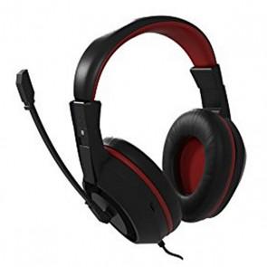Auricolari con Microfono Gaming Tacens MAH0+ 32Ω 15mW Ultra Bass Nero Rosso