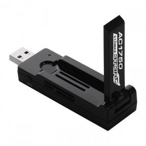 Adattatore USB Wifi Edimax Pro NADAIN0205 EW-7833UAC AC1750 3T3R MIMO Nero