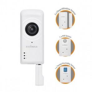 Telecamera IP + Sensori Edimax IC-5170SC (H/V/D): 180° / 142° / 206° Zoom 4x Wifi