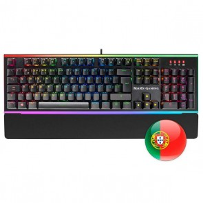 Tastiera per Giochi Mars Gaming MK6R RGB USB 2.0 (Portoghese)