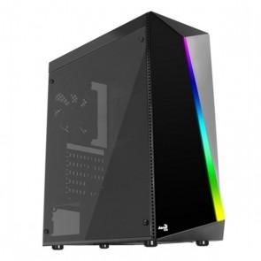 Casse Semitorre Micro ATX / Mini ITX / ATX Aerocool Shard RGB LED Ø 12 cm Nero
