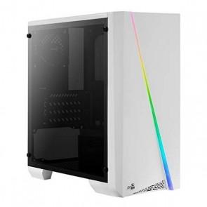 Cassa Minitorre Micro ATX / ITX Aerocool CYLONMINIW RGB LED Bianco