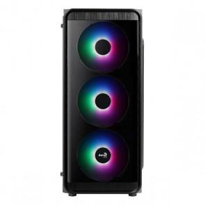 Casse Semitorre Micro ATX / Mini ITX / ATX Aerocool SI5200 Frost Ø 12 cm RGB