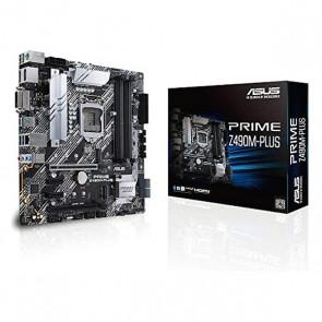 Scheda Madre Asus Prime Z490M-PLUS mATX DDR4 LGA1200
