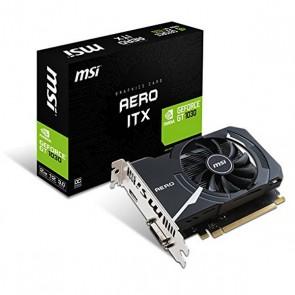 Scheda Grafica MSI VGA NVIDIA GT 1030 AERO ITX OC 2 GB GDDR5