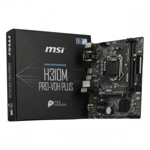 Scheda Madre Gaming MSI H310M PRO-VDH PLUS mATX LGA1151