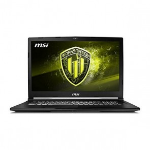 "Portatile Gaming MSI WE63-495ES 15,6"" i7-8750H 16 GB RAM 256 GB SSD + 1 TB Nero"