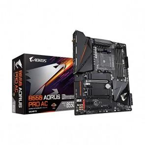 Scheda Madre Gaming Gigabyte B550 Aorus Pro GAB55APRW-00-G ATX DDR4 AM4 WiFi