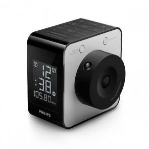 Radio-Orologio Philips AJ4800/12 LCD FM Digital Nero