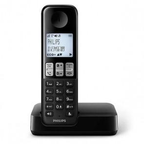 Telefono Senza Fili Philips DECT Nero