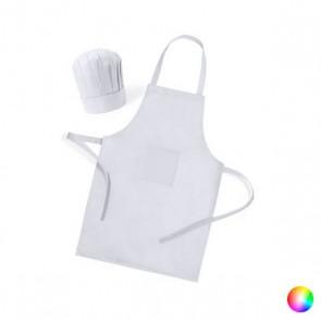 Grembiule e Cappello da Cucina per Bambini (2 pcs) 144754 Bianco
