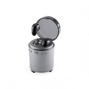 Auricolari Bluetooth con Microfono FM USB 3W Argentato 146192