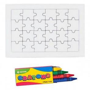 Colouring Puzzle (24 pcs) 143301