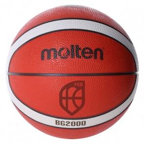 Pallone da Basket Molten B7G2000 Gomma (Taglia 7)