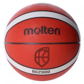 Pallone da Basket Molten B6G2000 Gomma (Taglia 6)