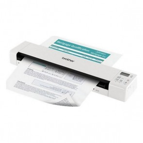 Scanner Portatile Duplex Wi-Fi Color Brother DS920W 7.5 ppm 1200 dpi WiFi Bianco