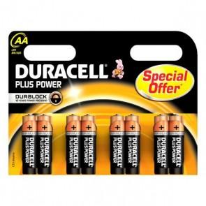 Batterie Alcaline DURACELL Plus Power DURLR6P8B LR6 AA 1.5V (8 pcs)