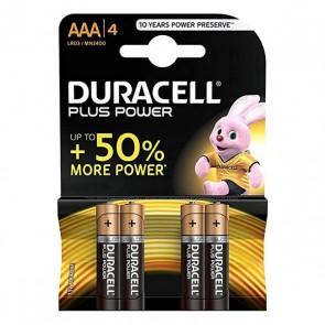 Batterie Plus Power Lr03 DURACELL (4 uds)