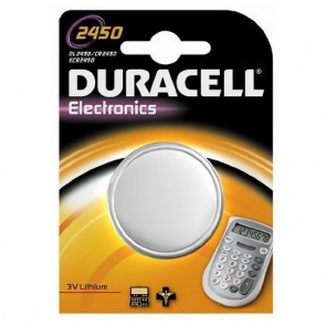 Batteria a Bottone a Litio DURACELL DRB2450 CR2450 3V